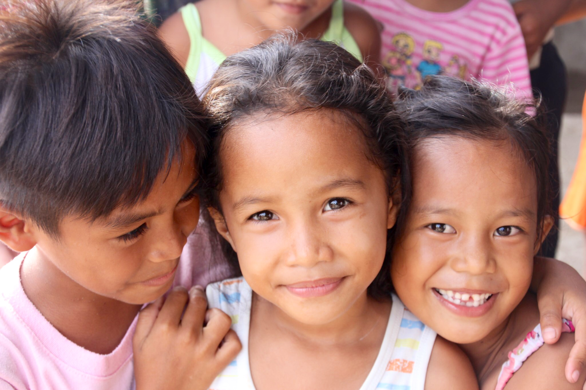 Photo children barangay